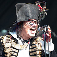 Adam Ant Fills Summer with North American Tour