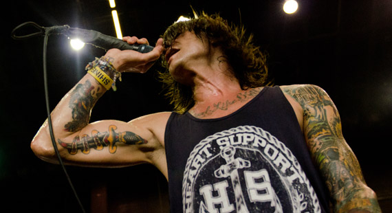 Vans Warped Tour 2013 Pluck The Used, 3OH!3, BlessTheFall