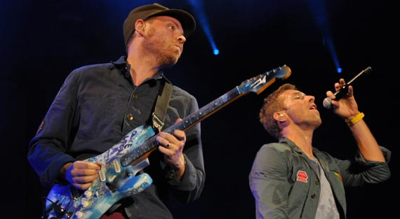 Coldplay Schedules European Tour Dates
