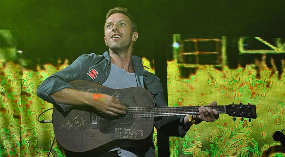 Coldplay's Mylo Xyloto Not Hitting Streaming Services