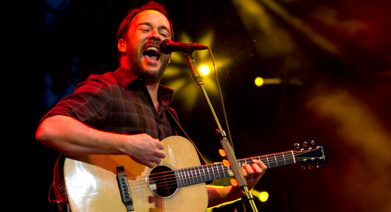 Dave Matthews Band Pack Summer with 45-Date Concert Tour