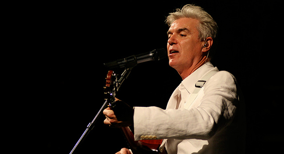 David Byrne Books Fall Tour Trek with St. Vincent