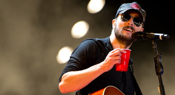 Eric Church Leads American Country Music Award Nominations with Seven