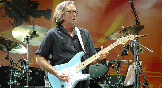 Eric Clapton Books UK Dates, London Residency