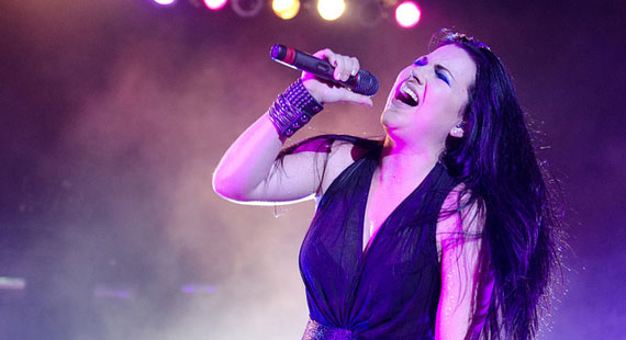 Concert Review: Evanescence at Beale Street Festival in Memphis