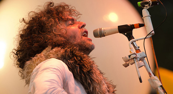 Flaming Lips, Grizzly Bear Take to Aircraft Carrier for Colbchella 2012