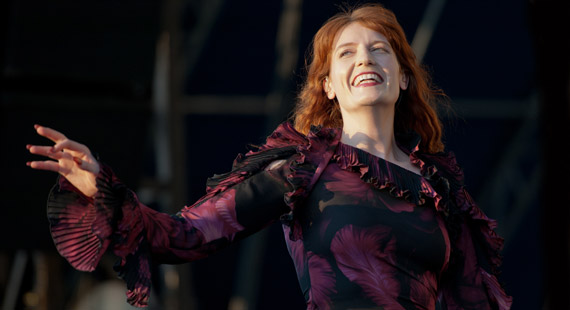Concert Review: Florence + The Machine at Music Midtown in Atlanta