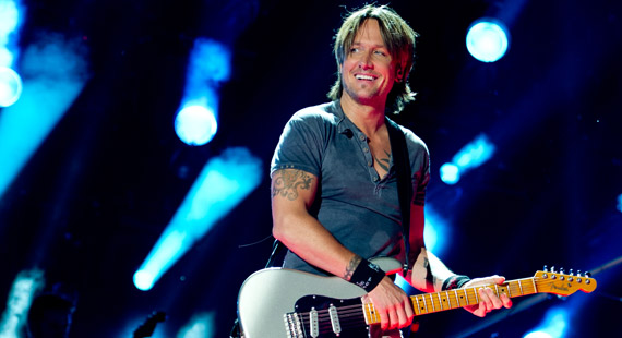 Keith Urban Toasts 2014 W