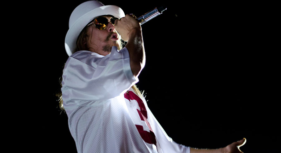 Kid Rock Visits Detroit's Comerica Park in August
