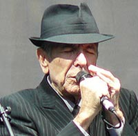 Tracing Leonard Cohen's Relationship History Through Song