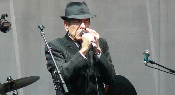 Leonard Cohen Reveals First Dates of 2012 World Tour