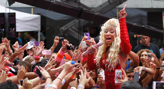 Strained Vocal Cords Cause Cancelled Nicki Minaj V Fest Appearance
