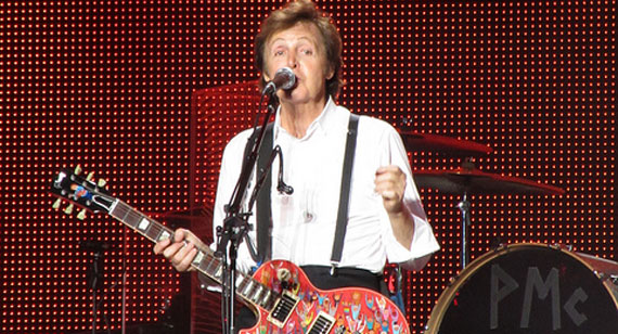 Paul McCartney Releases First Tour Dates for 2010