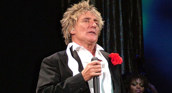 Rod Stewart Commits to Two-Year Residency at Las Vegas' Caesers Palace