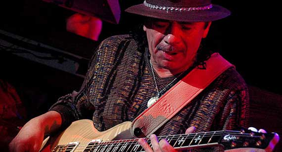 Santana Returns to Las Vegas with Two-Year Stint at House of Blues