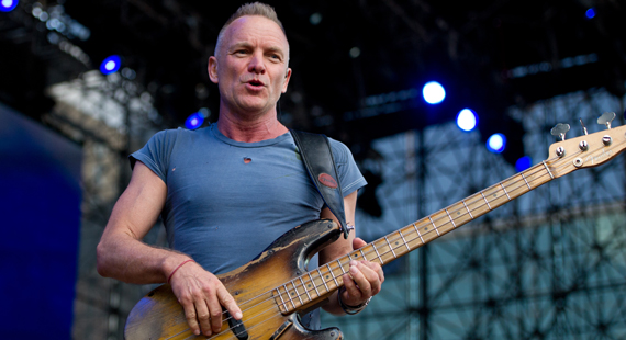 Sting Strips Down His Sound in Back to Bass Tour