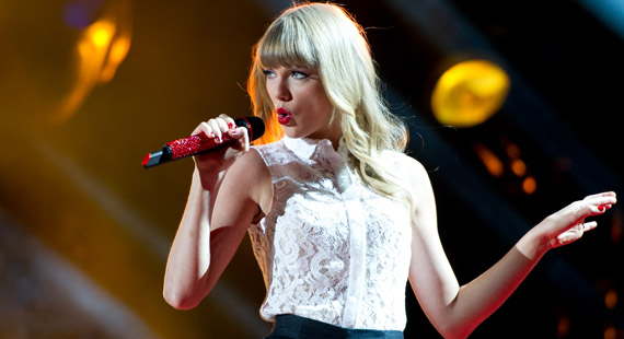 Taylor Swift Records Hop from Studio to Guinness Book