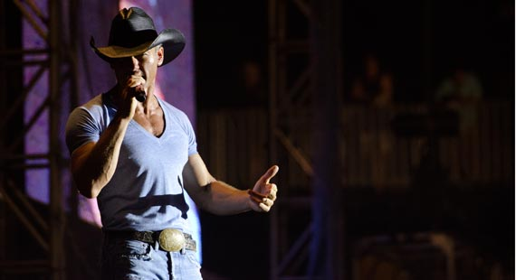 Tim McGraw Helps SirusXM Celebrate 10 Years with Concert