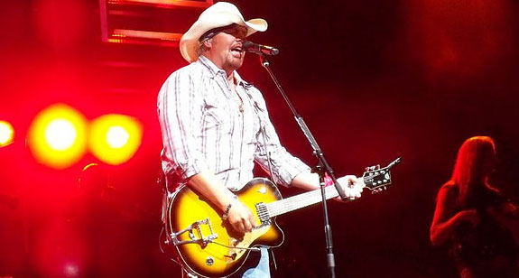 Toby Keith Sets Up 2009 Leg of Baddest Tour