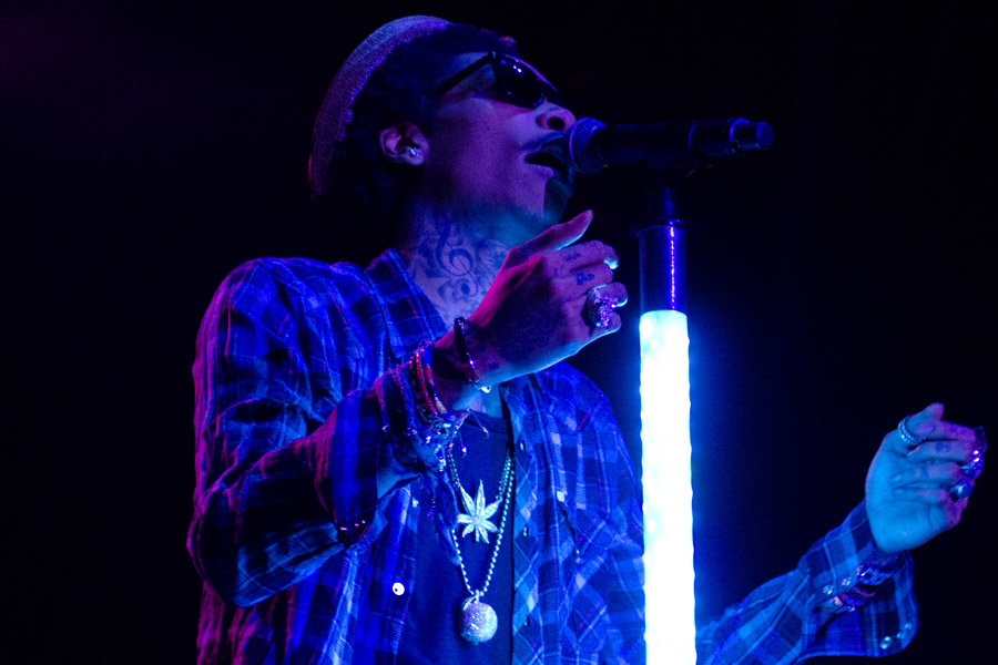 Wiz Khalifa at Beale Street Music Festival